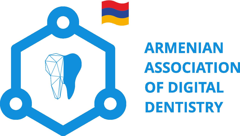 Armenian association of digital dentistry logo