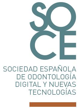 Logo SOCE Sociedad Espanola de Odontologia Digital Y Nuevas Tecnologias