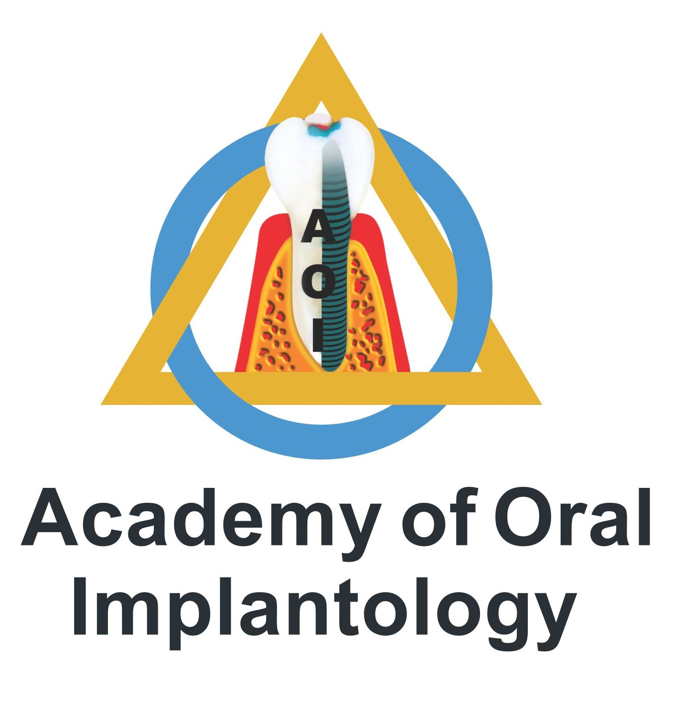 academy of oral implantology logo
