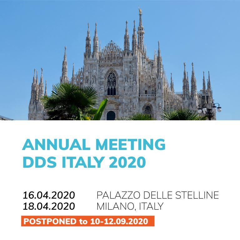 DDS annual meeting Milano
